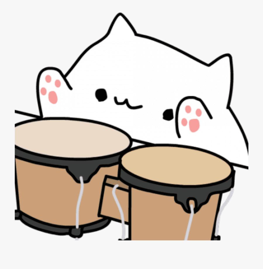 Bongo Cat png clipart 5