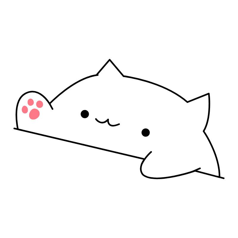 Bongo Cat png clipart