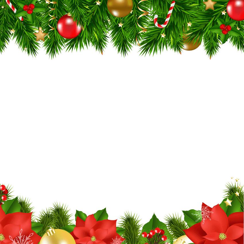 Christmas Border clipart 1