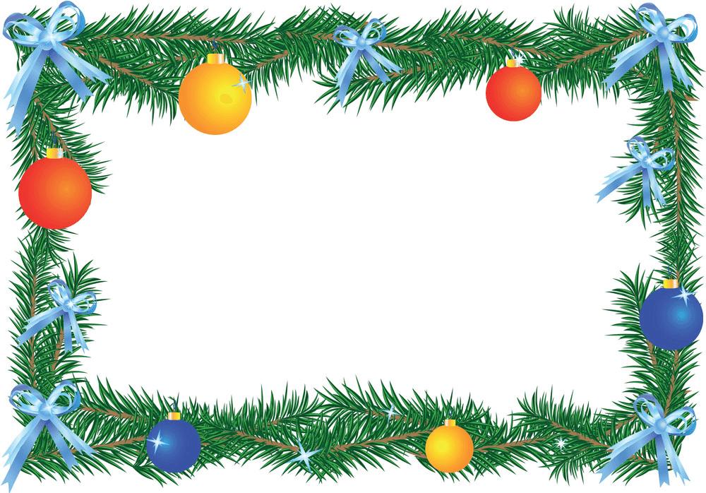 Christmas Border clipart 4