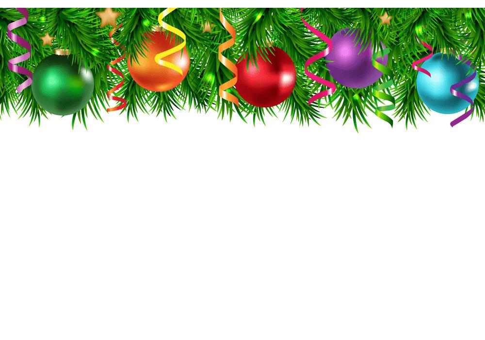 Christmas Border clipart 6