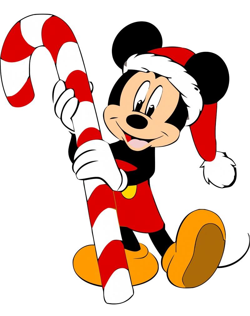 Christmas Santa Mickey Mouse