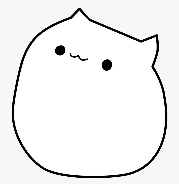 Clipart Bongo Cat png 2