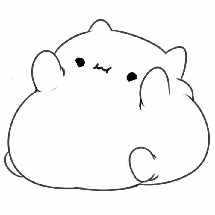 Clipart Bongo Cat png 3