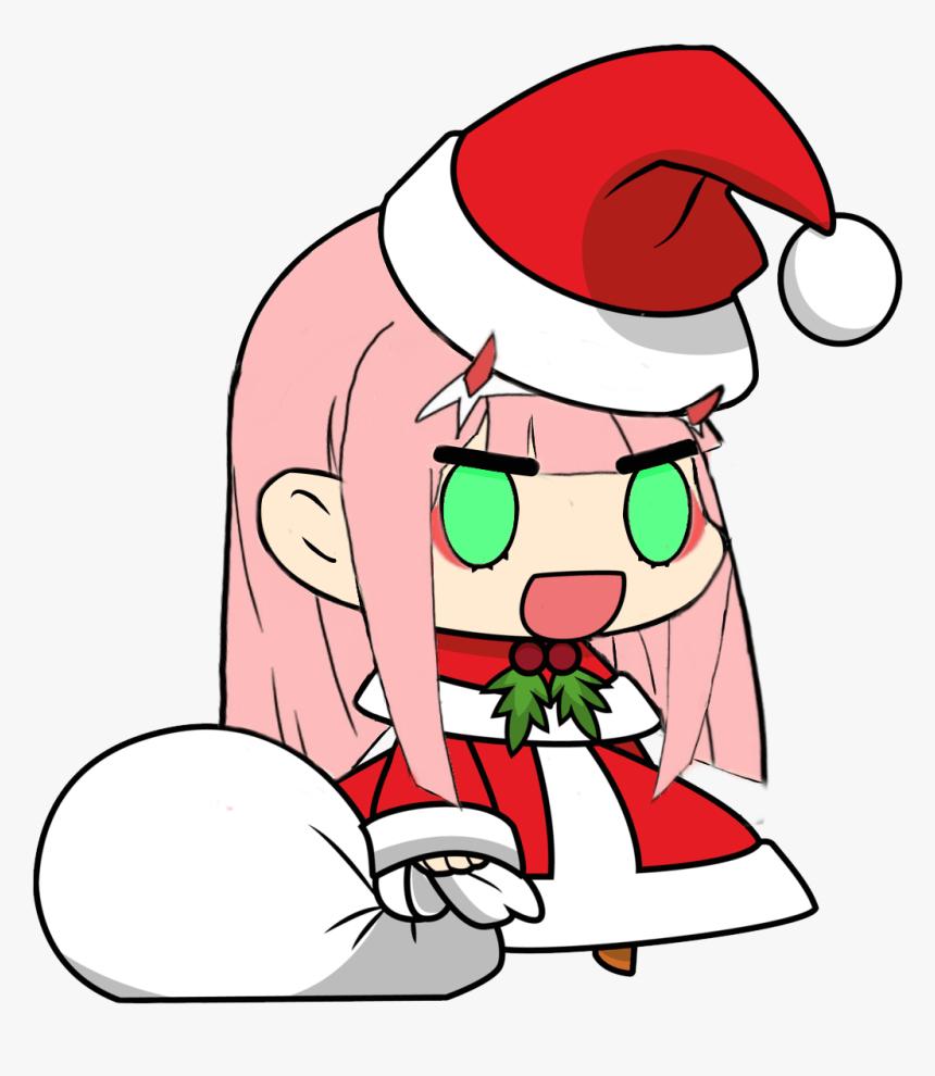 Cute Anime Santa Hat