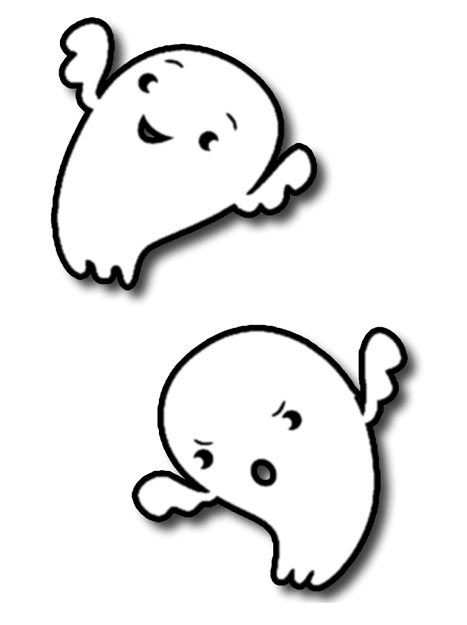 Free Cute Ghost Clipart Png Clipart World