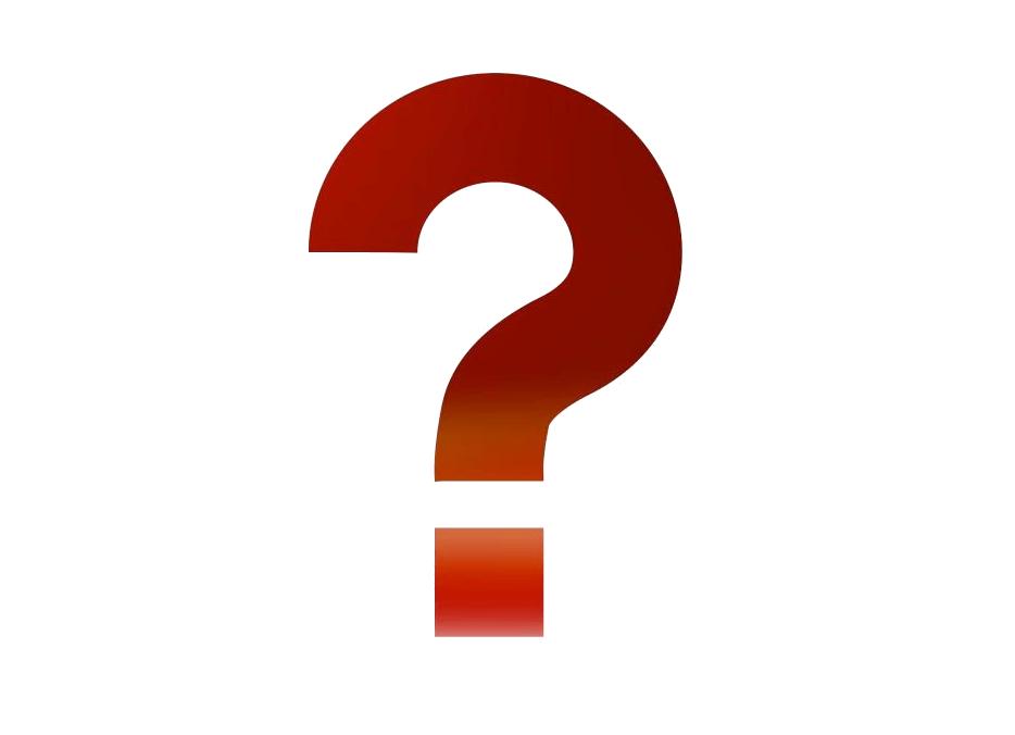 Question Mark Clipart