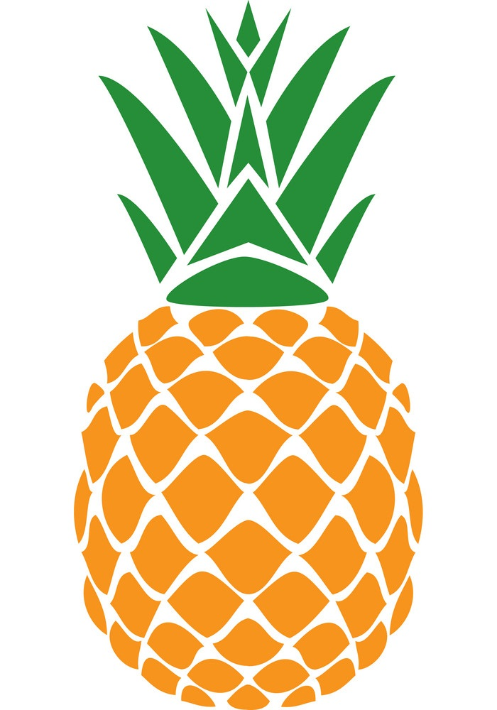a pineapple fruit