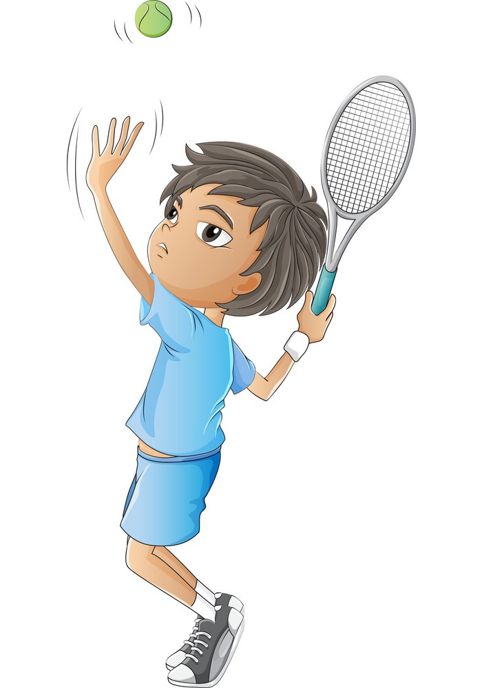 a-young-boy-playing-tennis-vector-1159901
