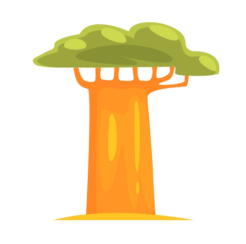 baobab simplified drawing