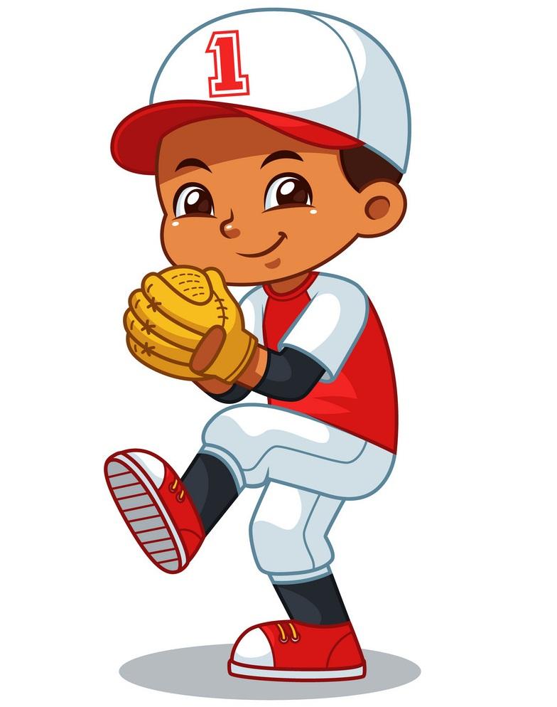 Baseball Pitcher Boy