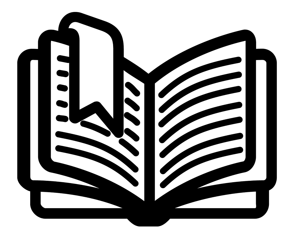 book clipart black and white 1 png