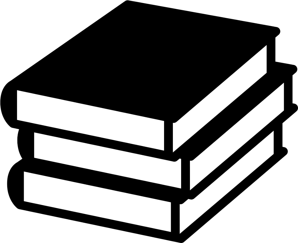 book clipart black and white png