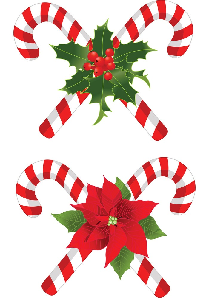candy cane decorated designs