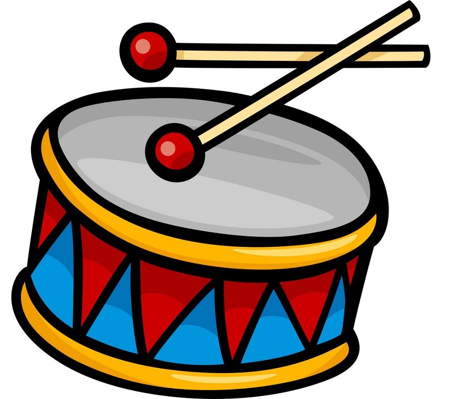 cartoon drum