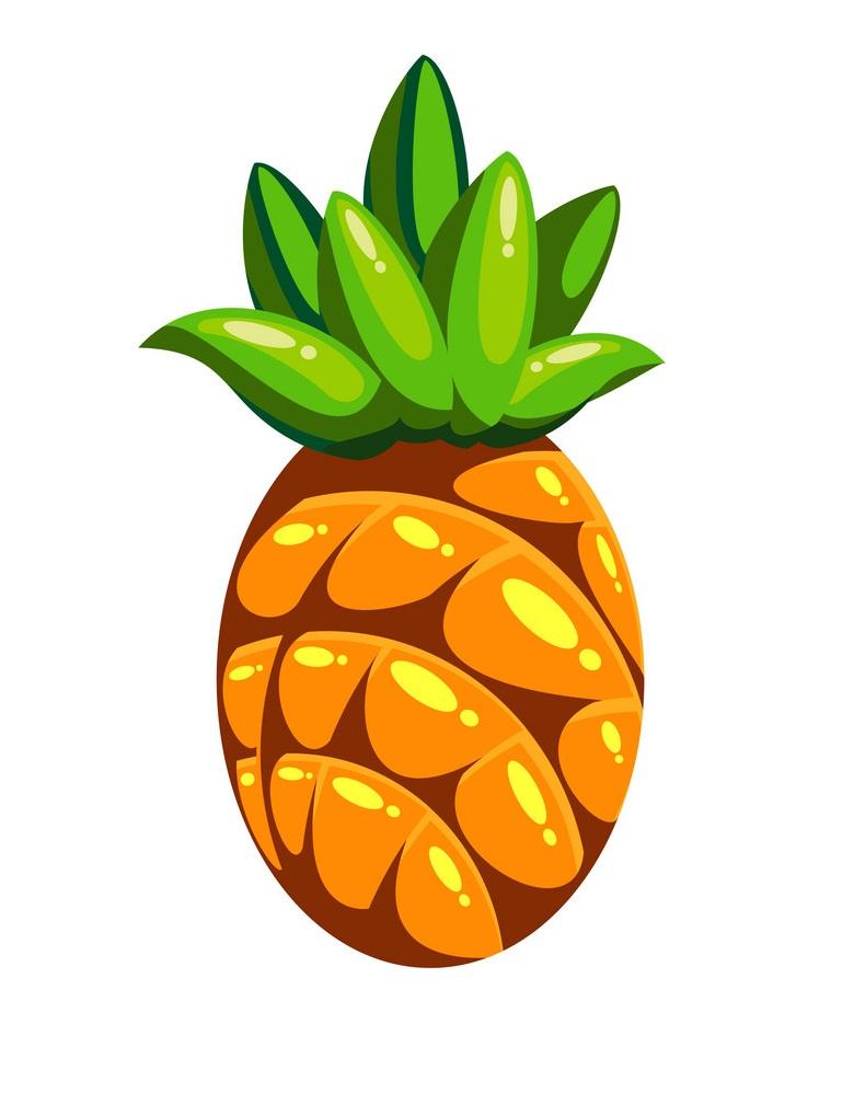 cartoon pineapple