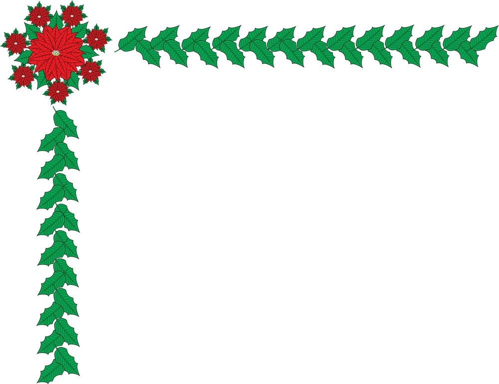 christmas border and frame