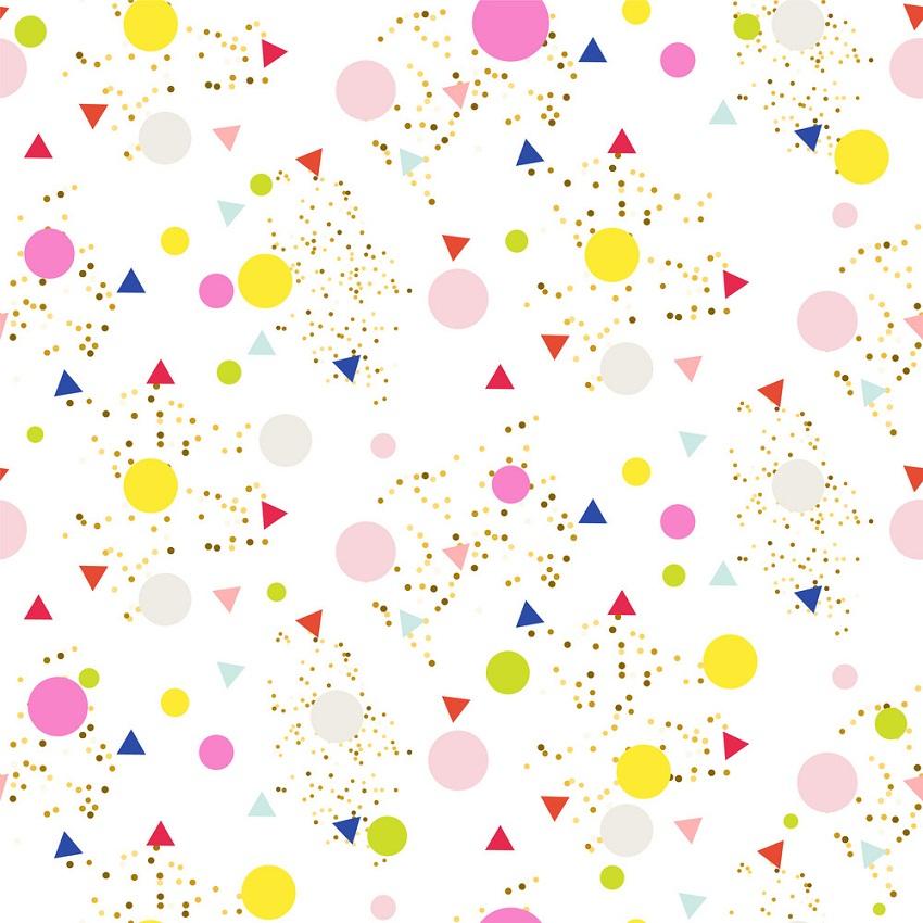 confetti seamless glitter