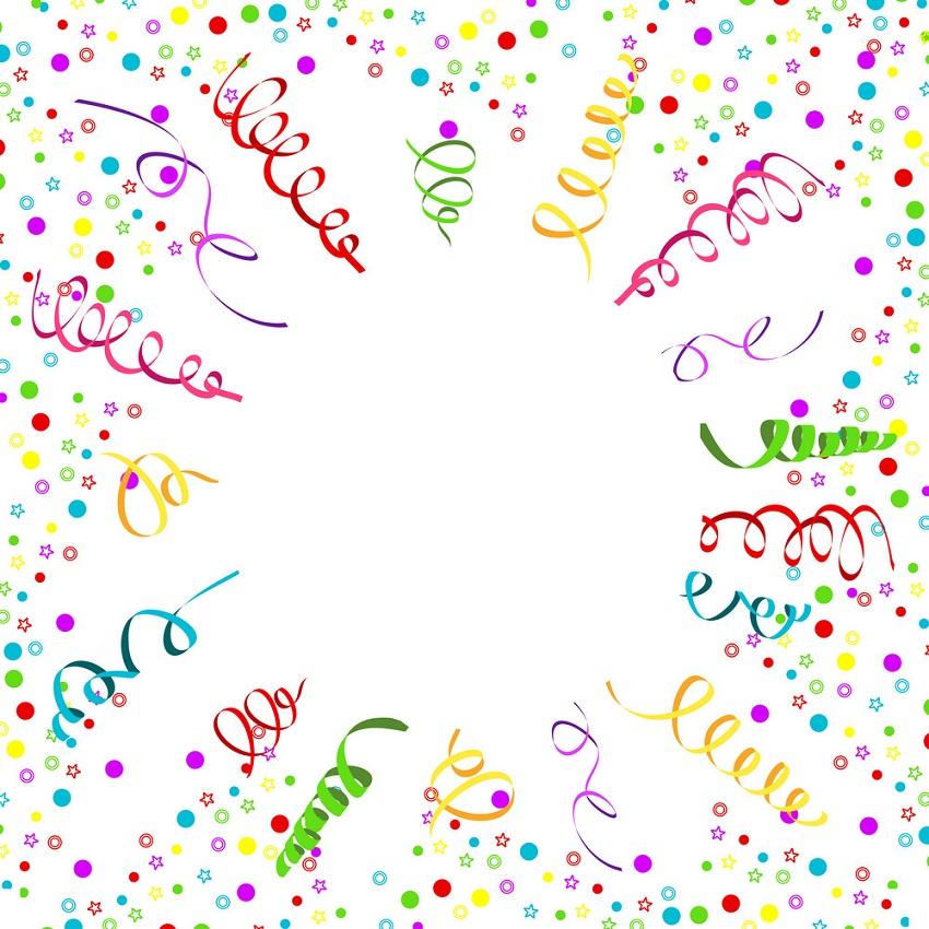 confetti serpentine