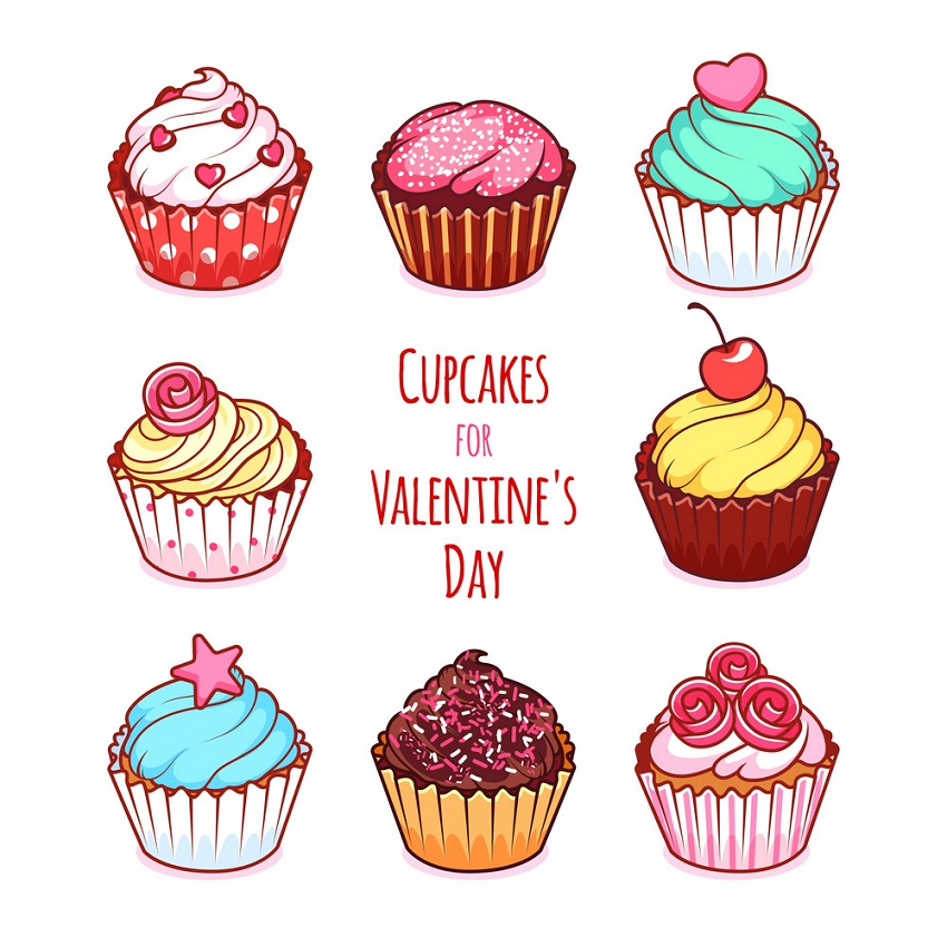 cupcakes for valentines day