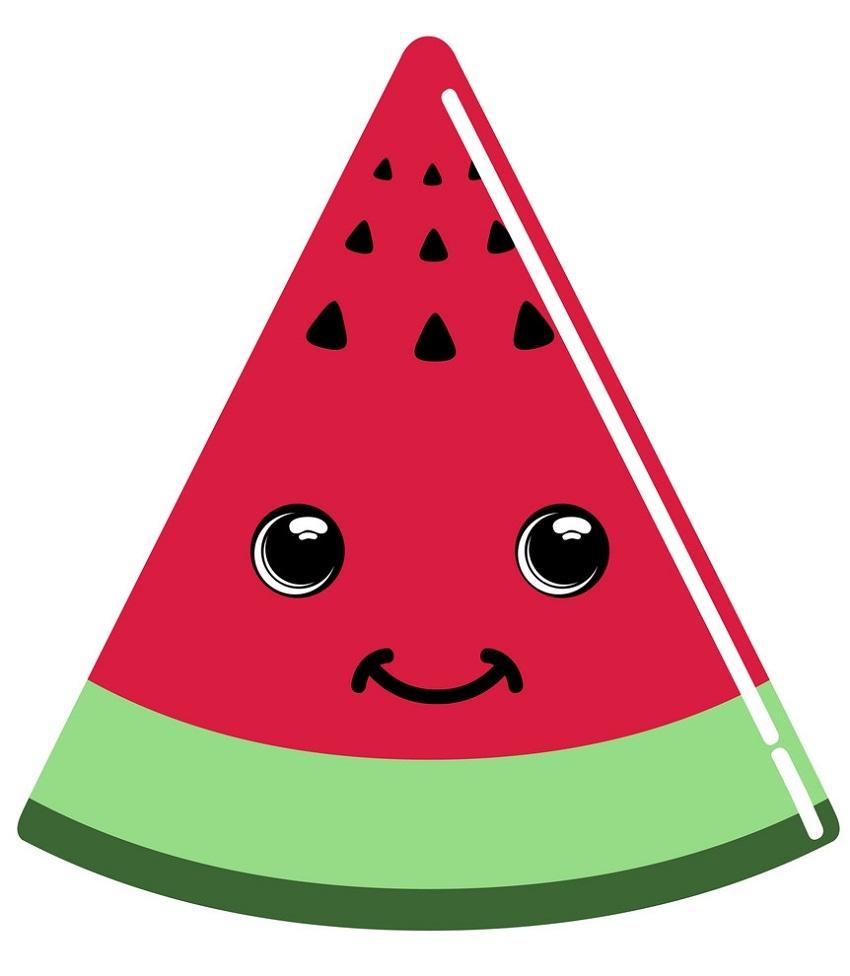 Cute Watermelon Slide Clipart World