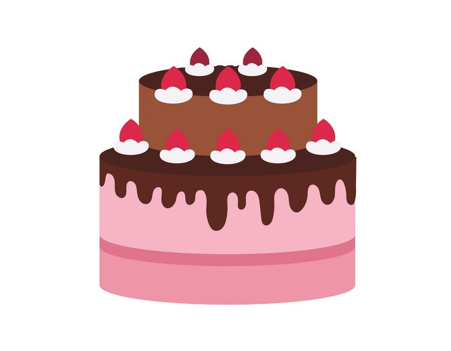 delecious birthday cake