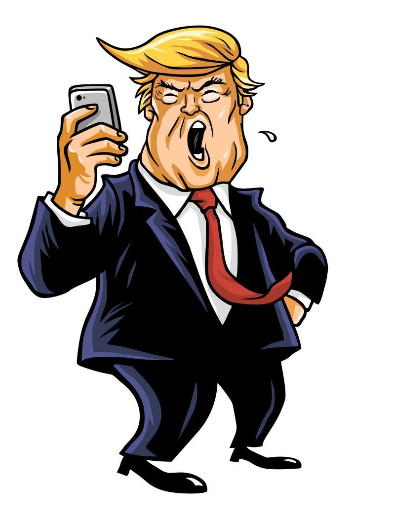 donald trump and social media update