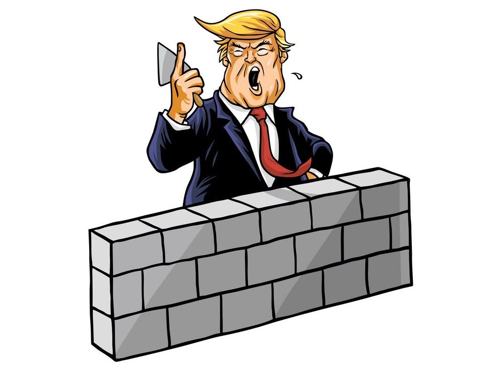 donald trump build wall