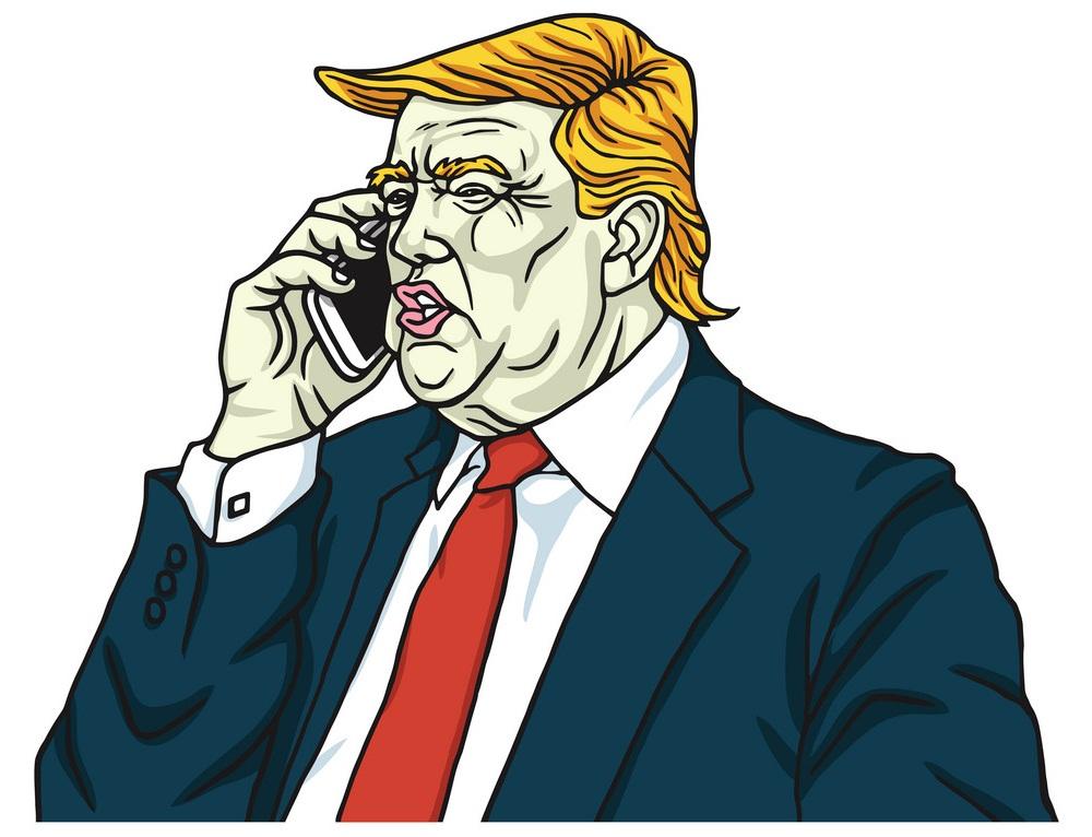 donald trump calling