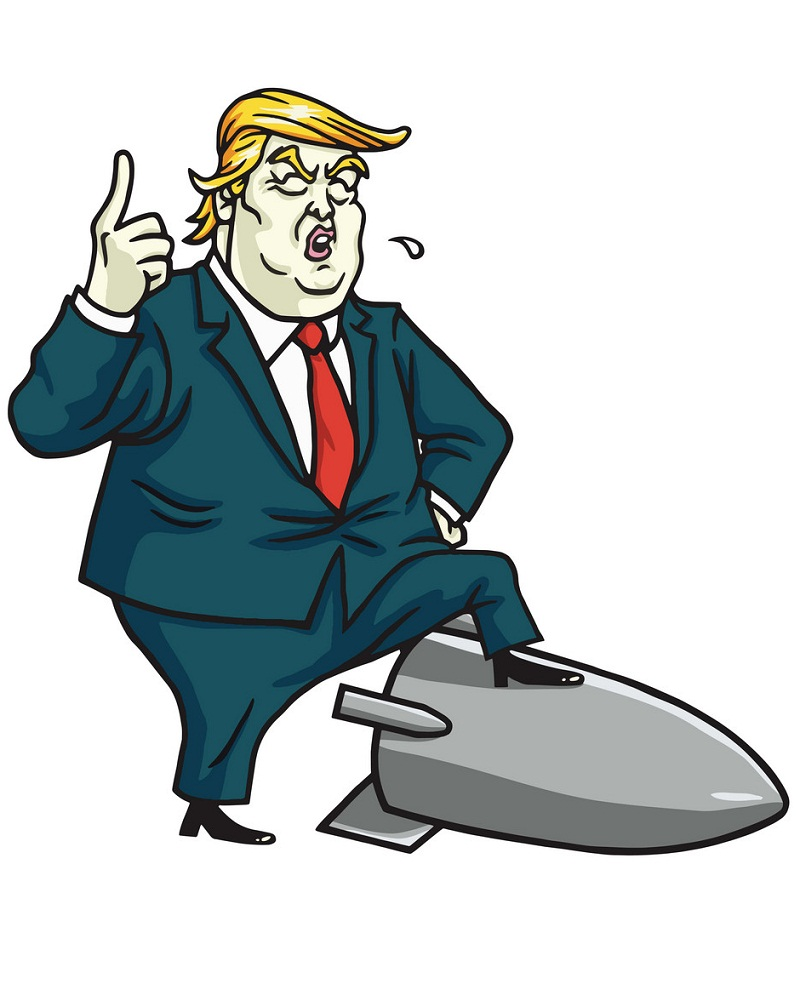 donald trump and missile