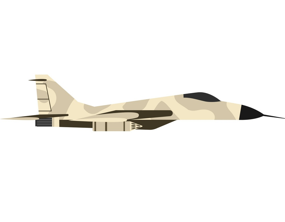 fighter airplane