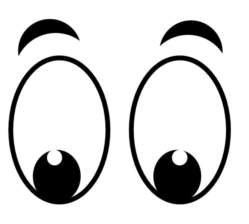 Googly Eyes With Eyebrow Png Clipart World Download now for free this black googly eyes transparent png picture with no background. clipart world