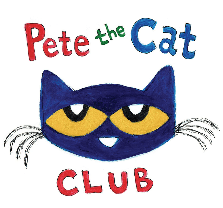 hand drawn pete the cat club