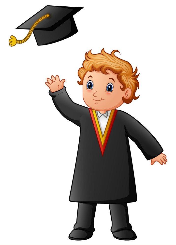happy graduates boy