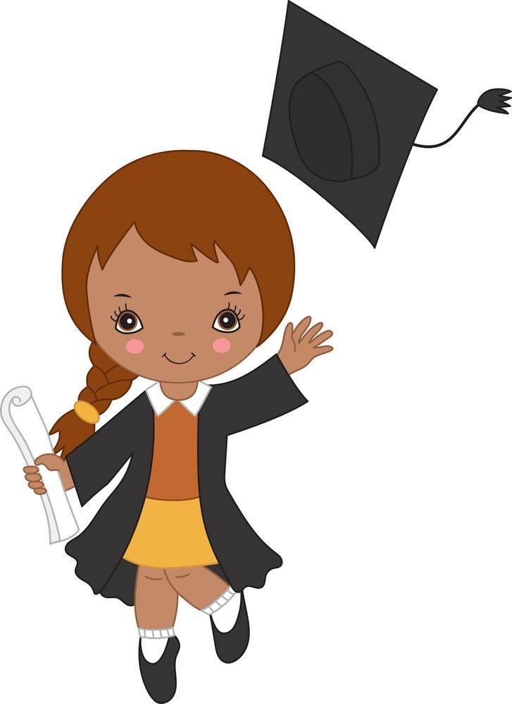 little graduate girl