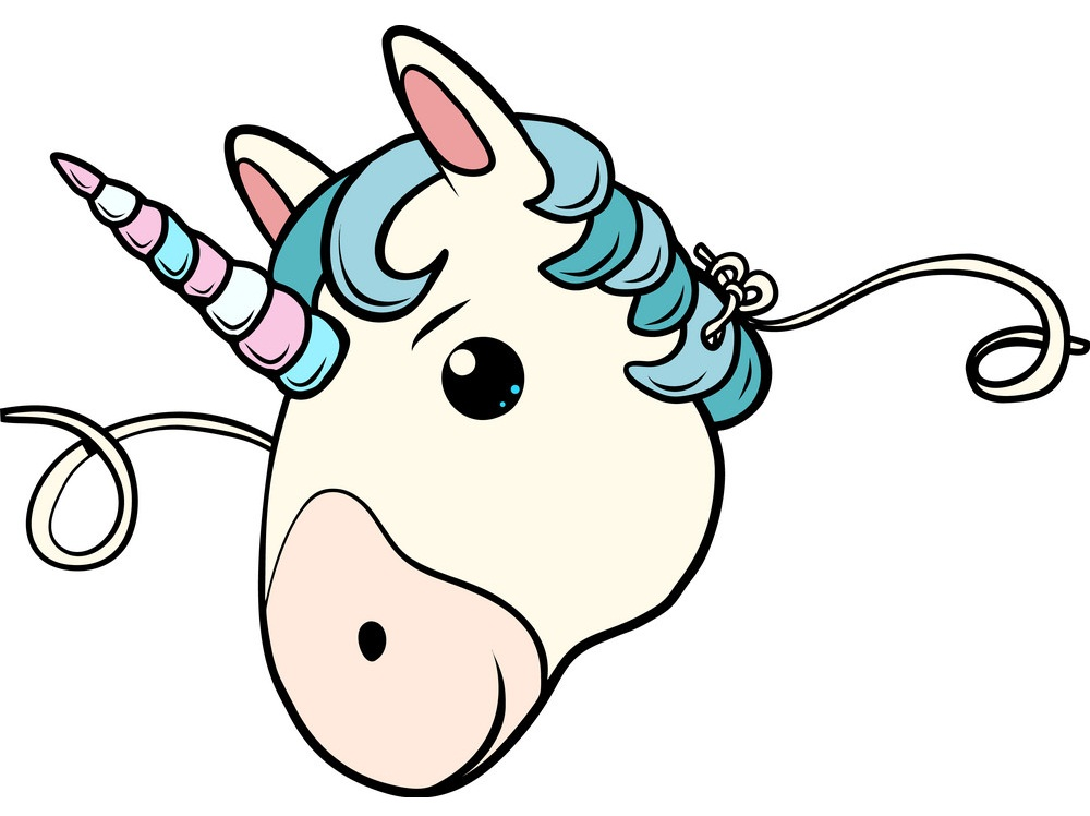 lovely unicorn face