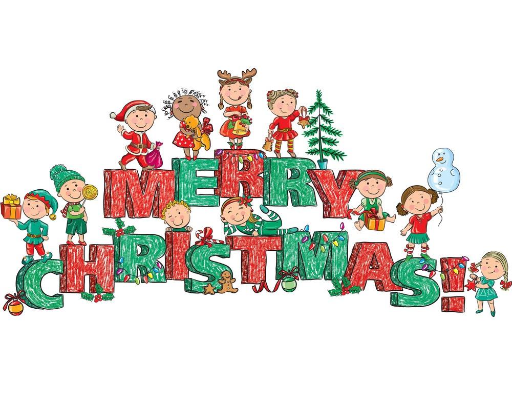 merry christmas kids