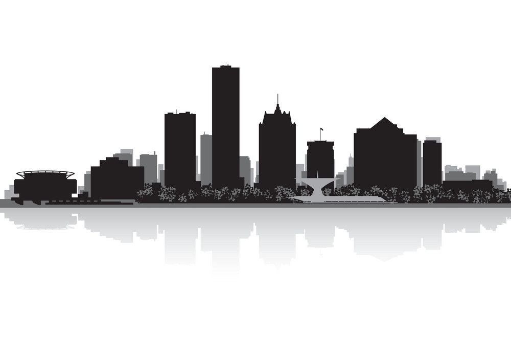 Milwaukee Skyline Clipart