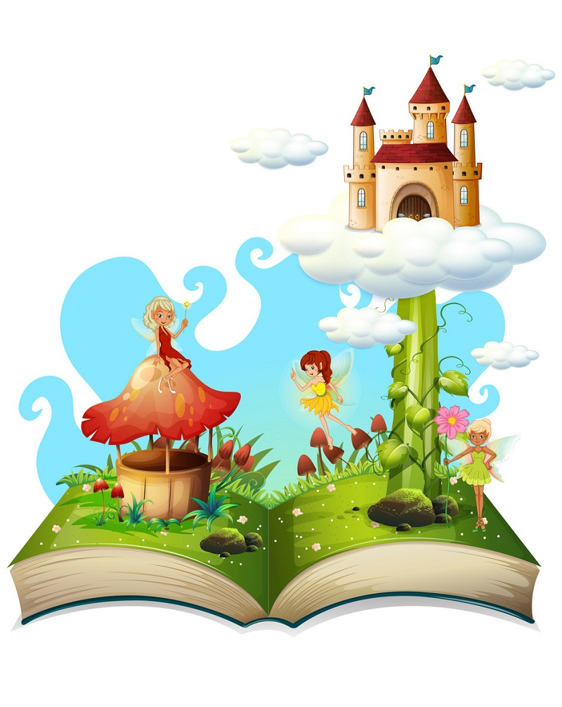 fairytale story book for kids