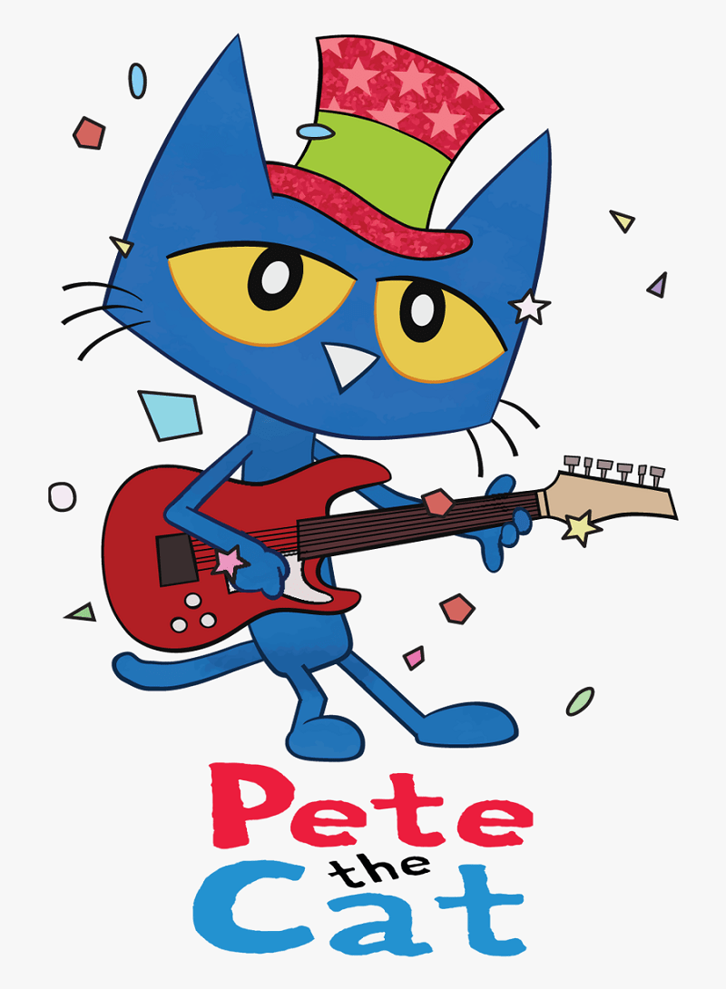 pete the cat playing guitar