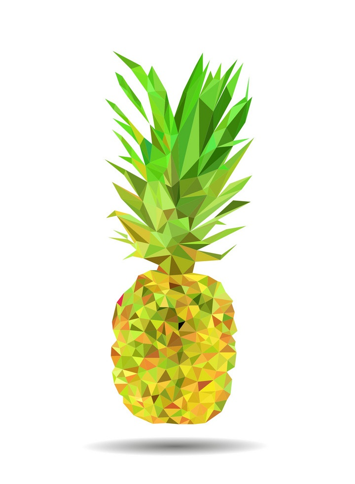 polygonal pineapple