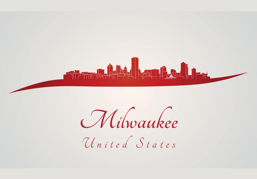 red milwaukee skyline