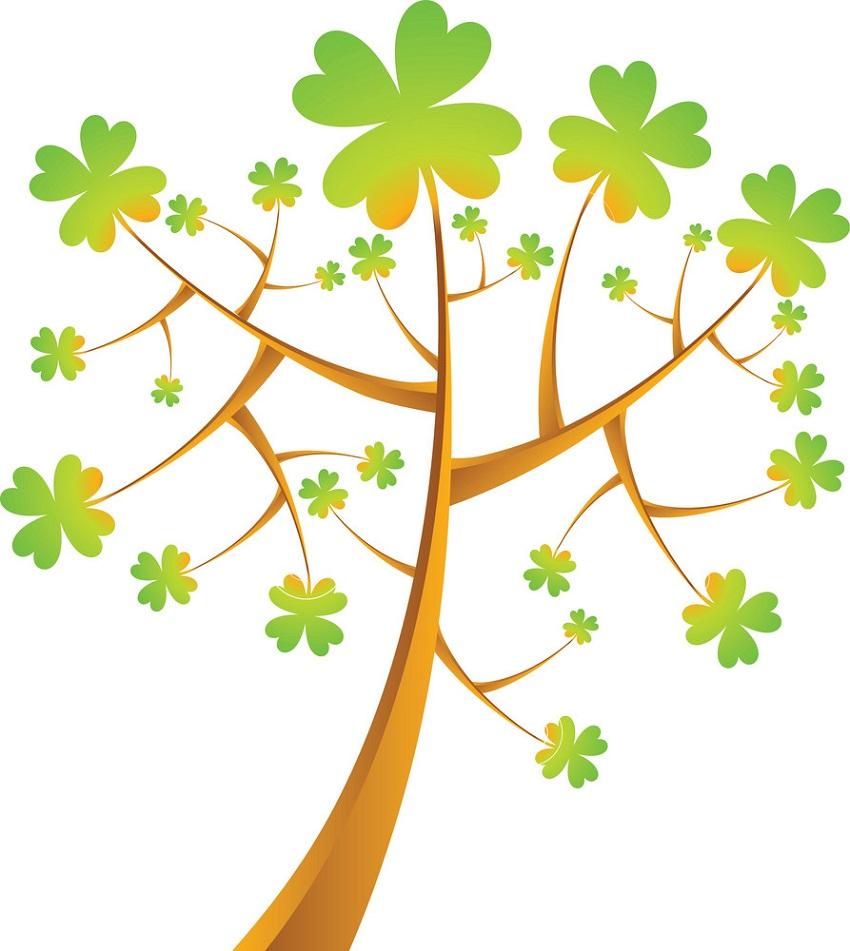 shamrock tree 1