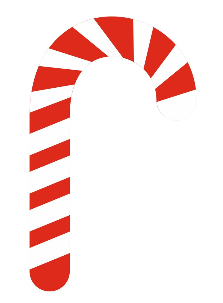 simple candy cane