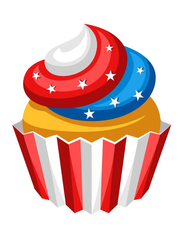 stylized cupcake
