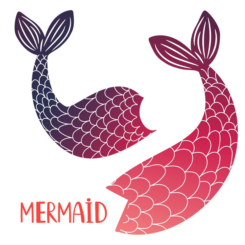 Mermaid Tail Clipart