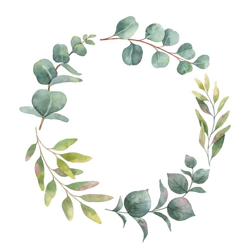 watercolor wreath 1