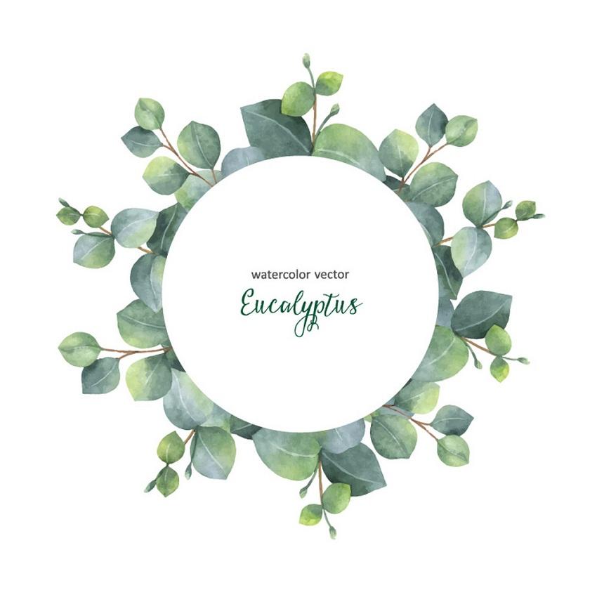 watercolor wreath 2