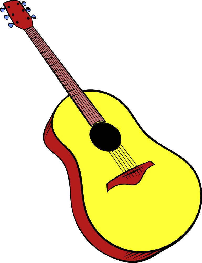 wooden-acoustic-guitar-icon-cartoon-vector-13629567