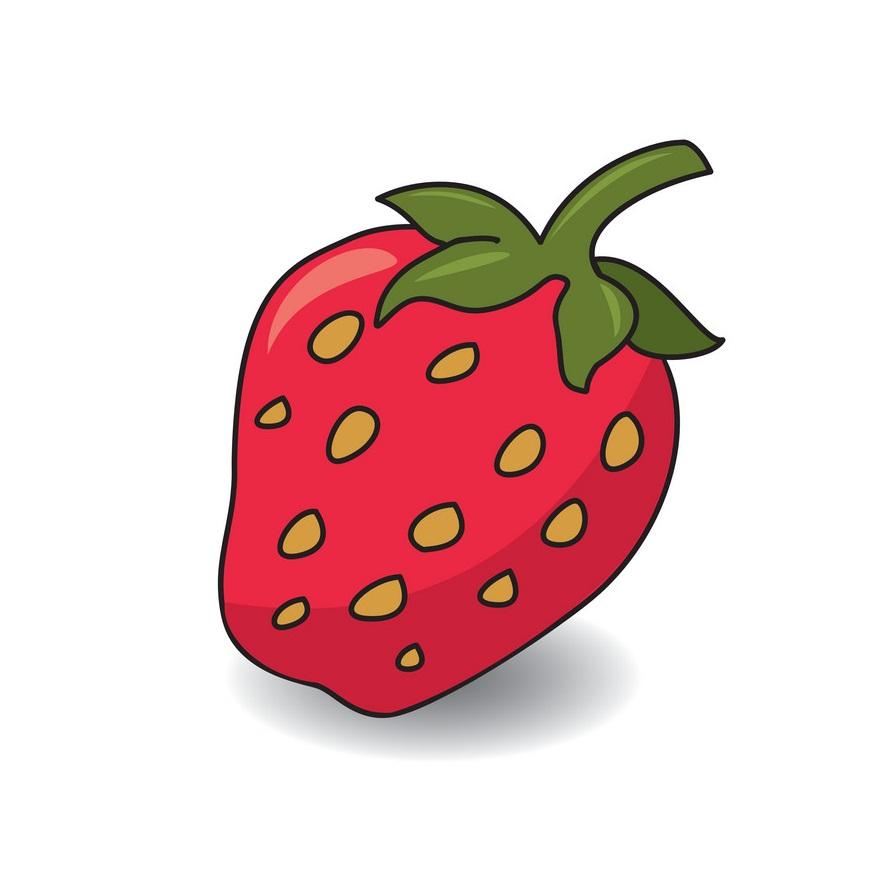a strawberry icon